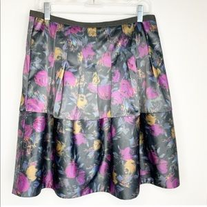 The Limited Floral A-line Skirt Size 8